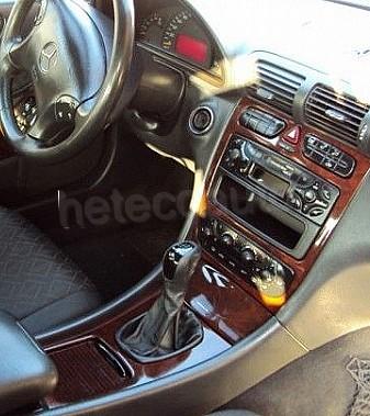 Mercedes w203 lederen hoes voor de versnellingspook het for Interieur mercedes 190d