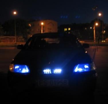 Led lampen r10 t10 w3w w5w 12v voor in de tellers en for Auto interieur verlichting