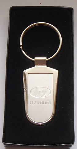Logo Hyundai Sleutelhanger Pendulum Metaal Het Eco Auto Auto