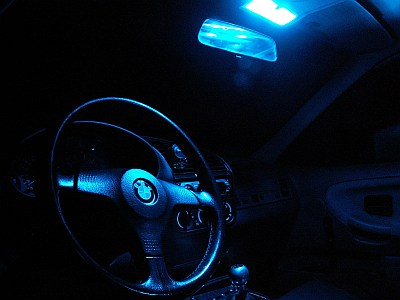 Led lampen c5w c10w 12v voor de nummerplaten interieur for Interieur verlichting auto